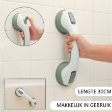 Douche greep met zuignappen